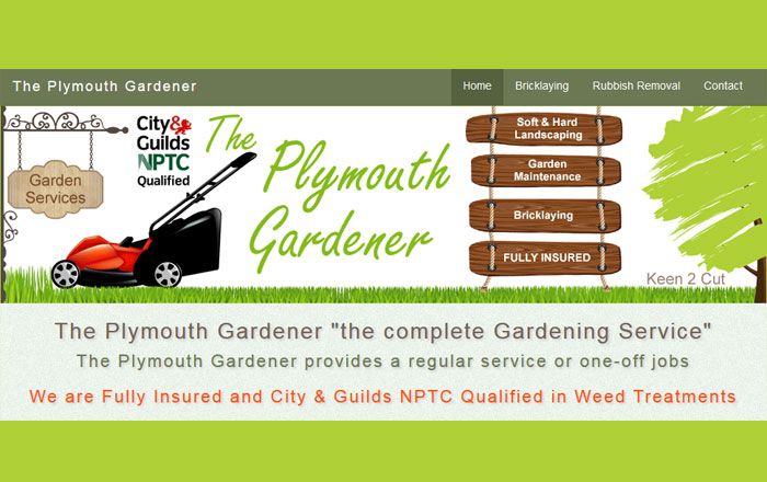the plymouth gardener