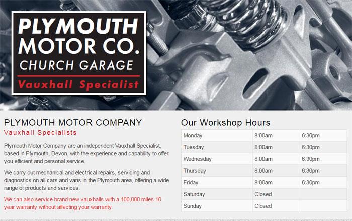 Plymouth Motor Company