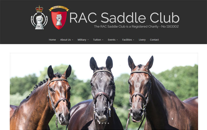 The Royal Armoured Corps Saddle Club