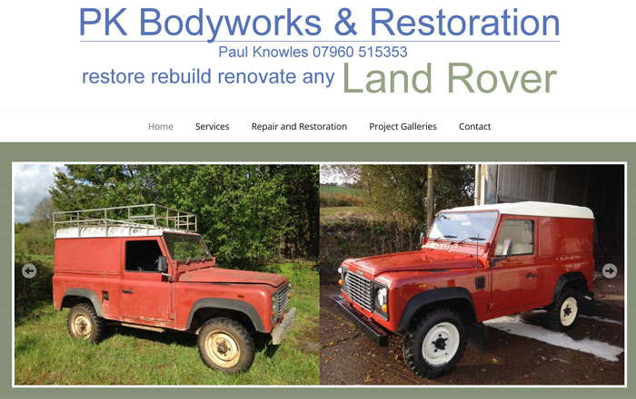Land Rover Refurbishment