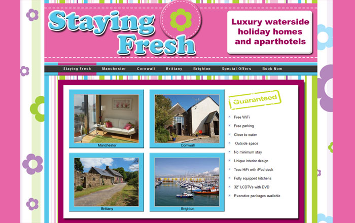 Staying Fresh Holiday Homes