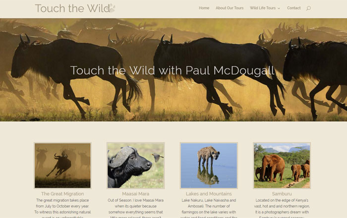 touch the wild photo safaris
