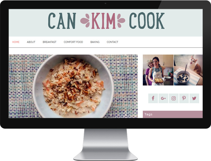 Website Design - Can Kim Cook